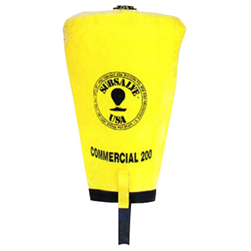 JCS Subsalve USA Commercial Lift Bag with Dump Valve, 200 LB Capacity