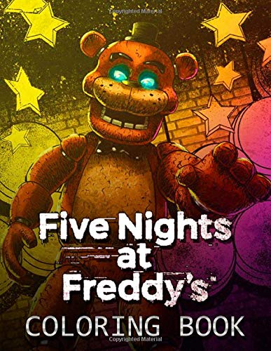 Five Nights At Freddy S Coloring Book 50 Coloring Pages Fnaf For Kids And Teens Buy Online In Germany At Desertcart De Productid 163520548