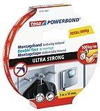 Tesa 55792-00001-00 Powerbond Ultra Strong, 5 m x 19 mm by tesa UK