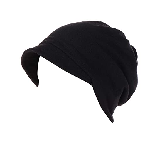Women Loose Elasticity Beanie,Warm Windproof Comfortable Hat,Cancer Patient Hair Loss Chemo Wrap Head Cap Summer