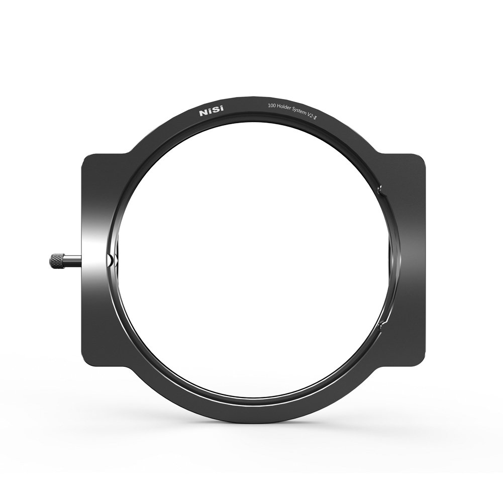 NiSi 100mm Aluminum Filter Holder V2-II can be Used on 52mm,55mm,58mm,62mm,67mm,72mm,77mm,82mm Lens Through Adaptor Rings (Adaptor Rings not Included) by NiSi