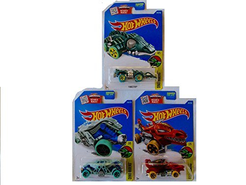 New Hot Wheels Dino Riders Toy Car Custom Bundle of (Bun Maker And Oven Costume)