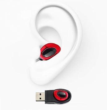 Mini Auricular Bluetooth, Auriculares inalámbricos con micrófono Bluetooth 4.1 auricular intrauditivos manos libres para iPhone