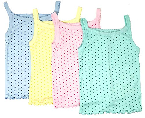 I/&S Boys Pack of 4 Tank Tops Soft Undershirts