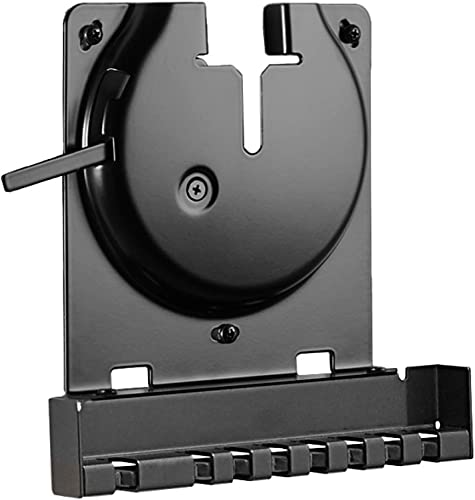 Sanus Wall Mount for Sonos Amp – Slim Black Design with Lockable Latch for Security – Low Profile Bracket Design Mounts in Any Orientation – Built-in Cable Management