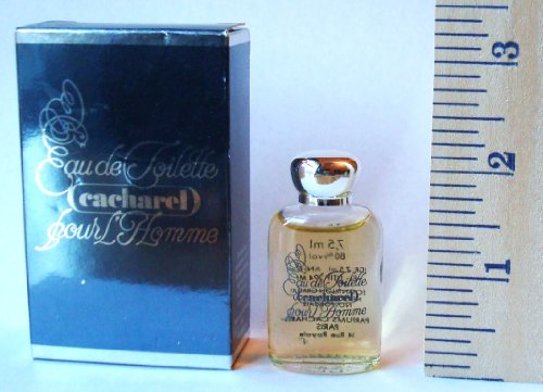 Cacharel Pour Homme Miniature EDT Splash 7.5 (7.5 Ml Edt Splash)