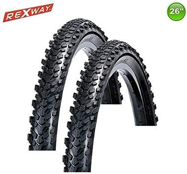 Rexway 2 X MTB Neumático de la Bicicleta Goma Abrigo Cubierta ...