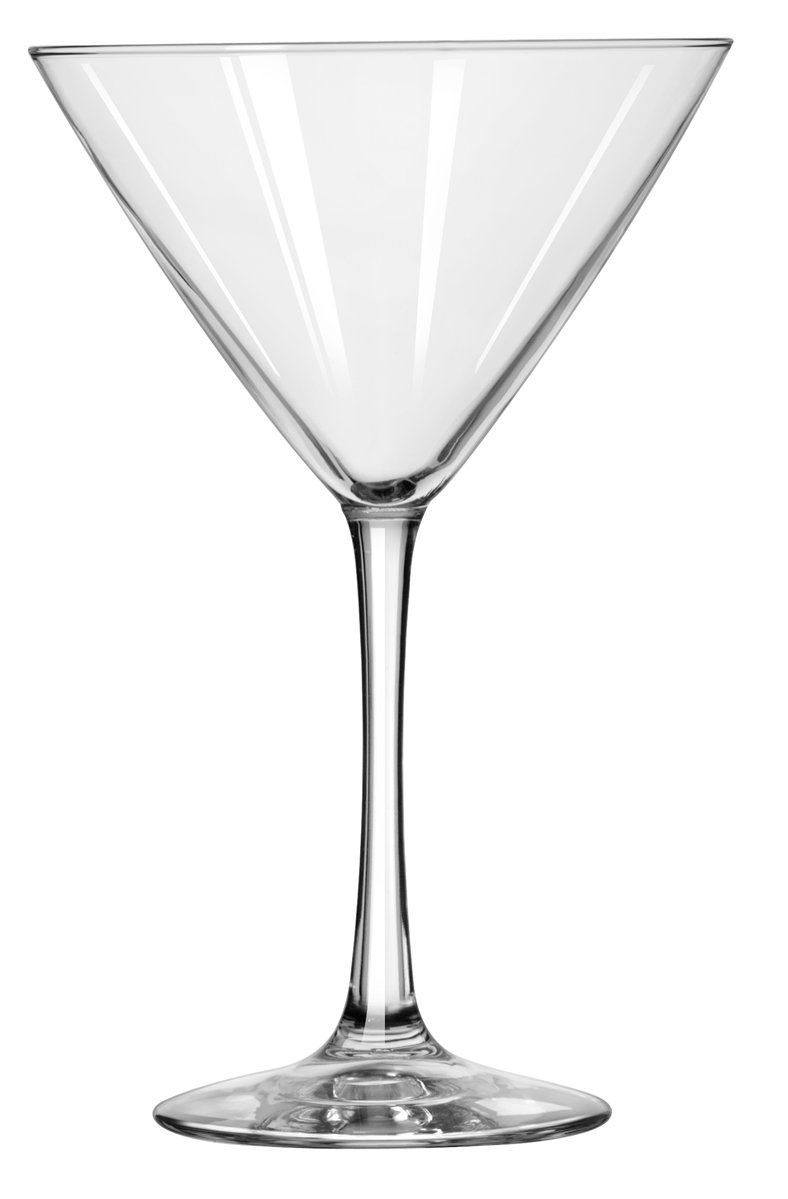 Libbey Vina 12-Ounce Martini Glass, Set of 12 7507 139