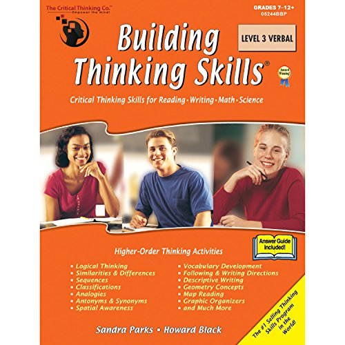The Critical Thinking Building Thinking Skills Level 3 Verbal School Workbook ()