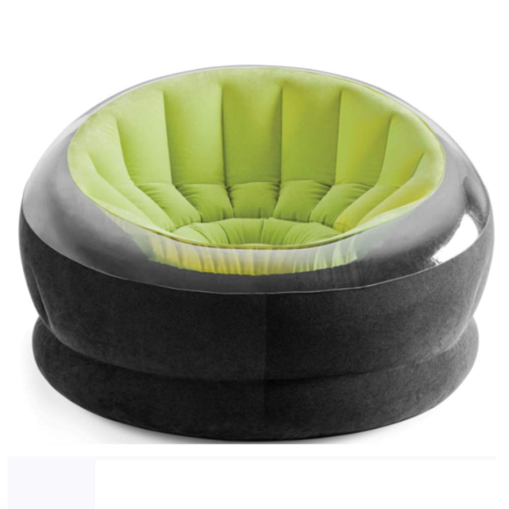 Inflatable Sofa Inflatable Lounger Chair Indoor Portable Waterproof Outdoor Beach Leisure Foldable Multifunction 112 * 109 * 69cm AGQLT