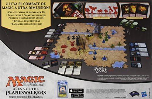 Hasbro Magic - Juego de Mesa táctico Arena de los Planeswalkers B2606: Amazon.es: Juguetes y juegos