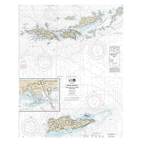 virgin islands nautical chart - 4
