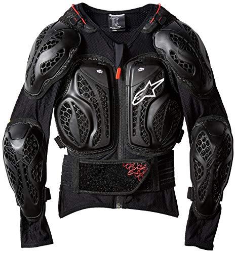 Alpinestars Youth Bionic Action Jacket, Black/Red, - Alpinestars Jacket Bionic