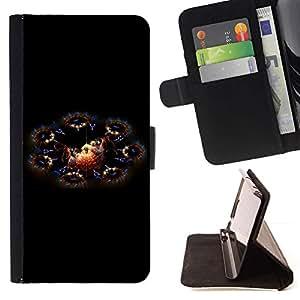 Momo Phone Case / Flip Funda de Cuero Case Cover - Fairytale Dragones Cosmos Universo Arte - Samsung Galaxy S6 EDGE