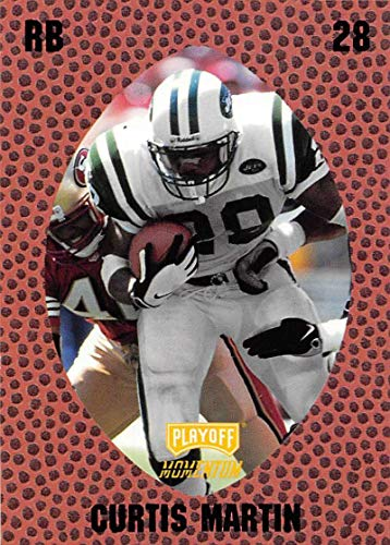 1998 Playoff Momentum Retail Football #148 Curtis Martin New York Jets Official NFL Trading Card