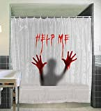 Help Me Shower Curtain - Halloween Decorations