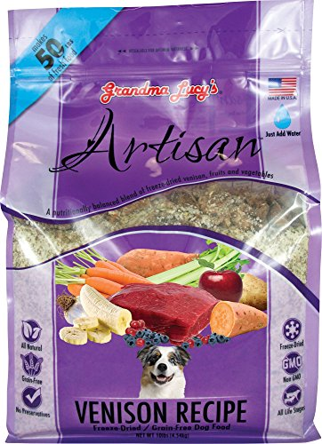Grandma Lucy's Freeze-Dried Grain-Free Pet Food: Artisan Venison 10lbs by Grandma Lucy's