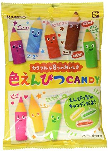 Price comparison product image Kanro Iro Enpitsu Pencil Hard Candy,  2.82 Ounce