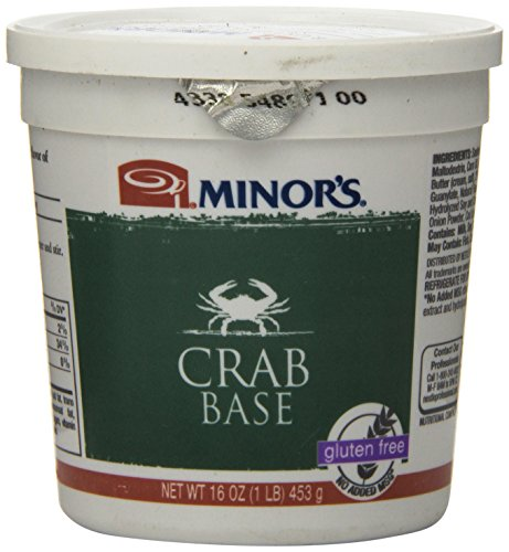 Minor's Crab Base, 16 Ounce - Crab Meat Soup