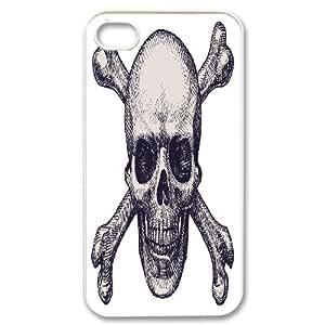 iPhone 4,4S Phone Case Skull SA82606