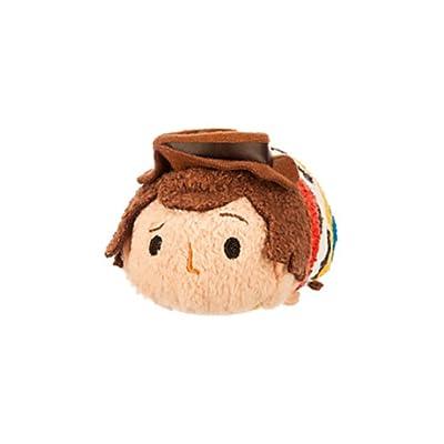 Disney Woody ''Tsum Tsum'' Plush - Toy Story - Mini - 3 1/2'': Toys & Games