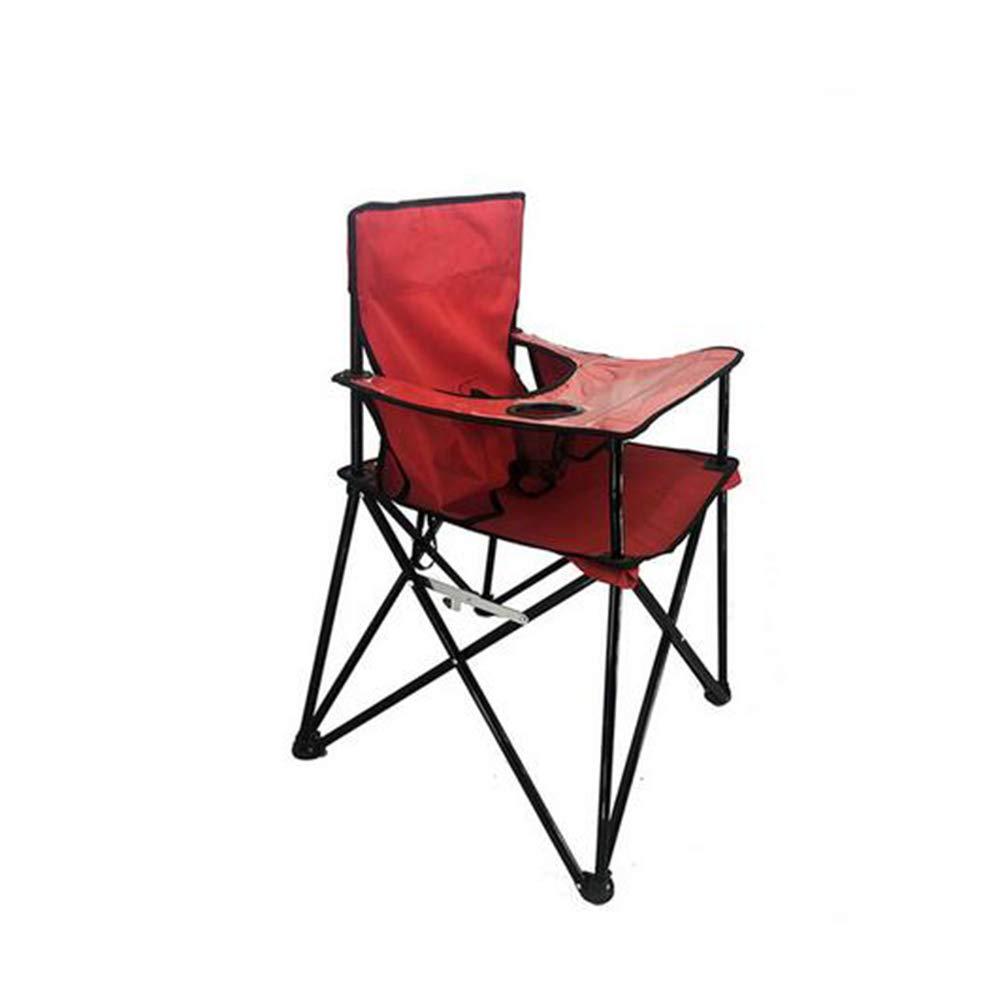 promociones emocionantes FZHZZ FZHZZ FZHZZ Silla Plegable portátil para niños Al Aire Libre Ocio Camping BBQ Mesa de Comedor y sillas Plegables para niños Oxford Tela,rojo  productos creativos