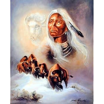 Amazon.com: Spirit Of The White Buffalo Native American