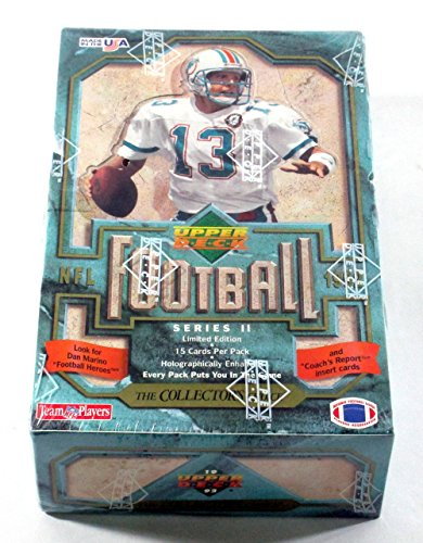 1992 Upper Deck Football Series 2 Box * Sealed (Upper Deck Sealed Factory Box)