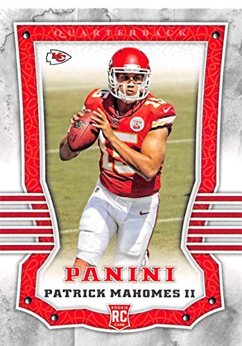 2017 Panini #104 Patrick Mahomes II RC Rookie Kansas City Chiefs