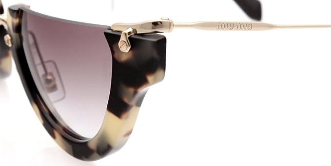 9baa94caccec Miu Miu 11QS HAN4N2 Tortoise Smu 11q Cats Eyes Sunglasses Lens Category 2  Miu  Miu  Amazon.ca  Sports   Outdoors