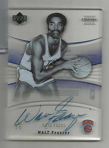 Walt Frazier Autographed Basketball - 2