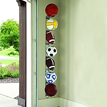 John Sterling Sports Ball Rack, 7-ball Capacity 4
