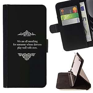 For Samsung Galaxy Note 5 5th N9200 Case , Viejos Películas Dios Religiosa Negro Blanco- la tarjeta de Crédito Slots PU Funda de cuero Monedero caso cubierta de piel