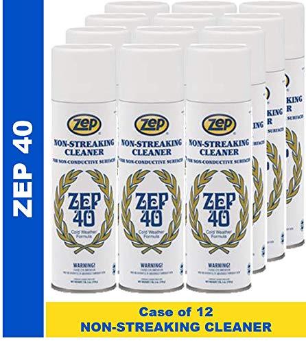 Zep 40 Non-Streaking Cleaner Aerosol (Case of 12)