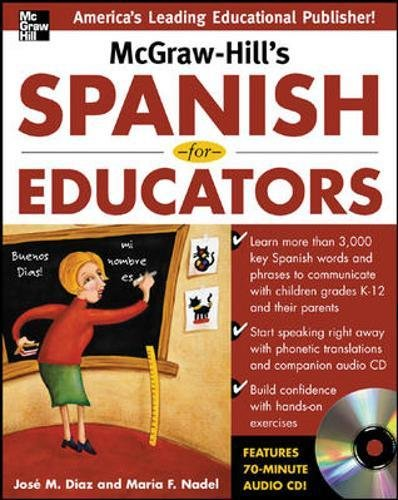 McGraw-Hill's Spanish For Educators W/Audio CD (NTC Foreign Language)