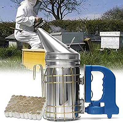 Electric Smoker Machine Beekeeping Tool Bee Hive Smoker Fumes Machine Pet Supplies by Thailand