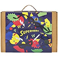 Superhero 3-In-1 Craft Kit by JackInTheBox: Gift For Boys...