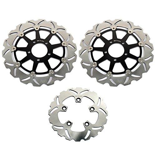 (TARAZON Front Rear Brake Discs Rotors for Suzuki GSXR 1000 2001 2002 GSXR600 GSXR750 1997-2003 TL1000 R S)
