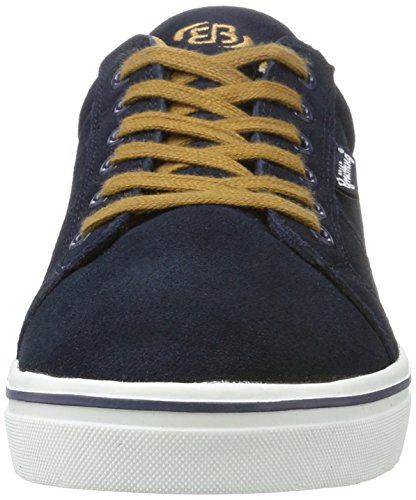 Bruetting Men's Jim Low-Top Sneakers Blue (Marine/Braun) 275Eu5i