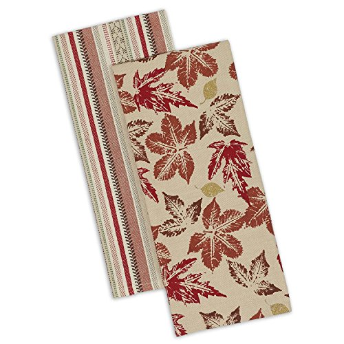(DII Cotton Decorative Dish Towels, 18x28