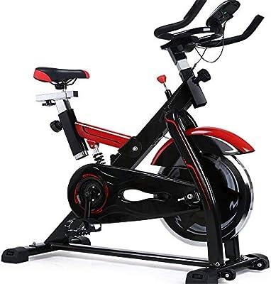 ZoSiP Bicicletas Spinning de Interior Ejercicio Aeróbico Tranquila Bicicleta de Spinning aparatos de Ejercicios Pedal de Bicicleta de Ejercicios de pérdida de Peso de Interior: Amazon.es: Hogar