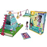 GoldieBlox Ruby's Sky-High Cable Car - Improve Spatial Skills and Confidence in Problem Solving While Having Fun! - Includes Over 30 Pieces - Ages 6 and Up by GoldieBlox