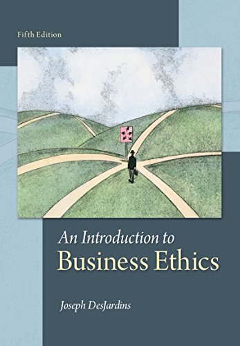 53 best business ethics books of all time bookauthority book cover of joseph r desjardins an introduction to business ethics fandeluxe Gallery