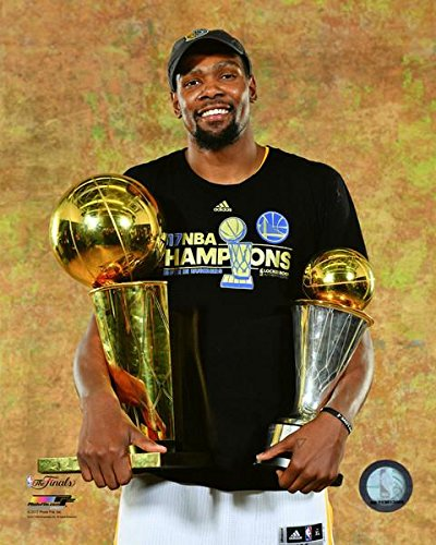 b2992f888c5d Golden State Warriors 2017 NBA Champions Kevin Durant NBA Championship  Trophy and Finals MVP Trophy 8