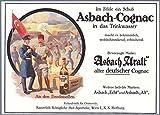 1915 Print Ad Asbach Uralt Cognac German Turkish Soldiers Flag Printed Advertisement