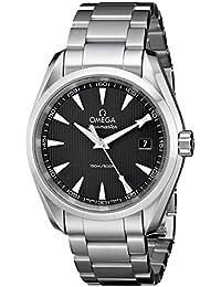 Men's 231.10.39.60.06.001 Aqua Terra Quartz 38.5mm Analog Display Silver Watch