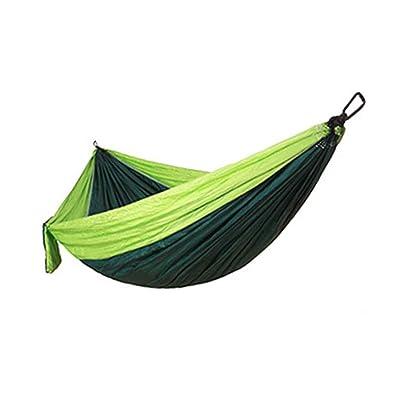 Republe Haute résistance en parachute Tissu Hamac double large survie camping en plein air Plage Cour balançoire suspendue Dormir Lit