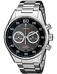 Tag Heuer Carrera Caliber 36 Mens Stainless Steel Automatic Flyback Chronograph Watch CAR2B10.BA0799