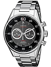 Carrera Caliber 36 Men's Stainless Steel Automatic Flyback Chronograph Watch CAR2B10.BA0799