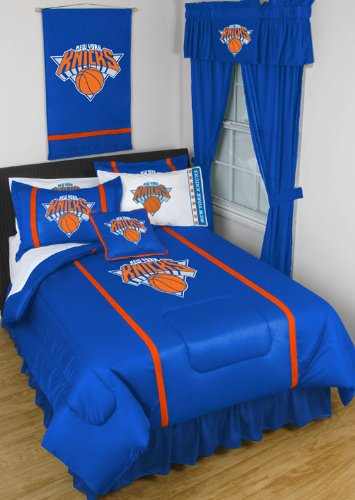 NBA New York Knicks MVP Queen Comforter Set